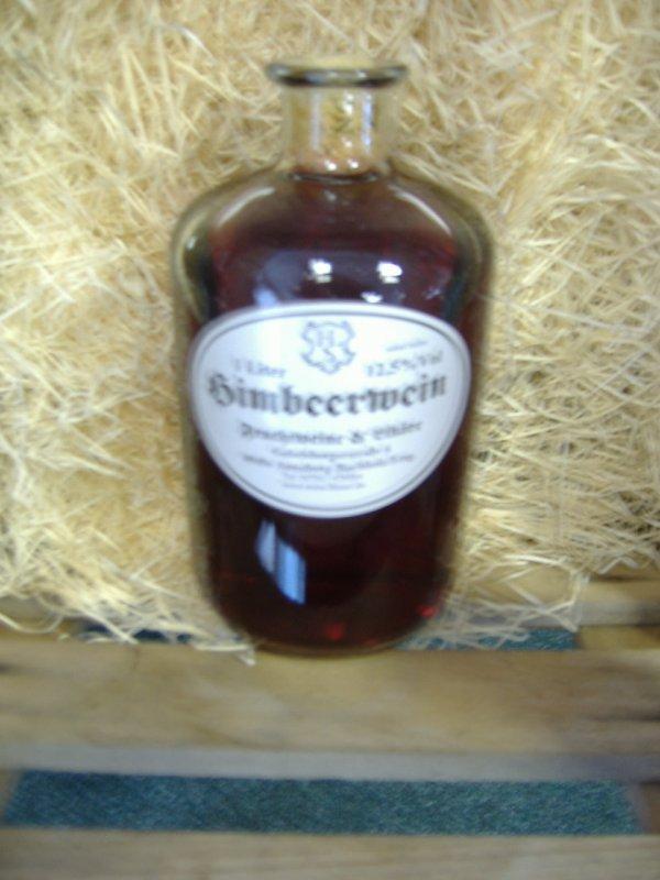 Himbeerwein 12,5% vol