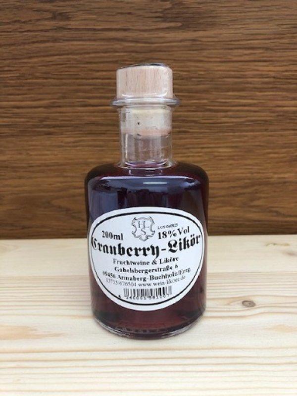 Cranberry-Likör 18% vol