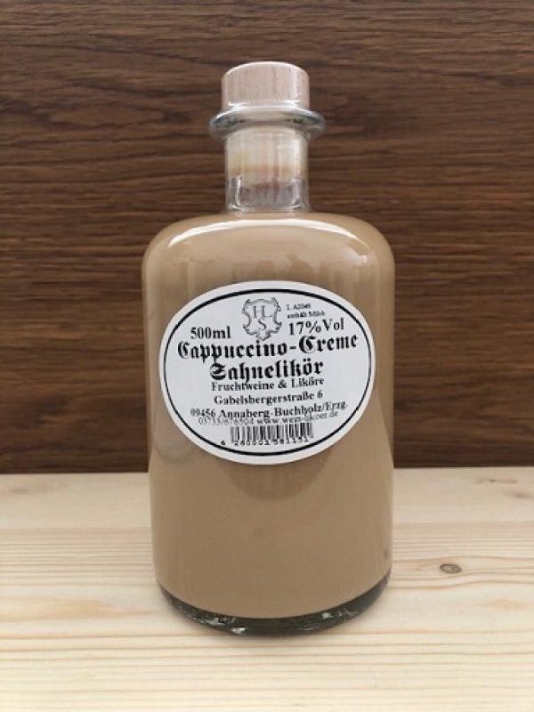 Cappuccino-Creme-Sahnelikör 17% vol