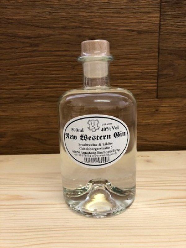 New Western Gin 40 % vol